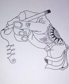 #Dibujo mano