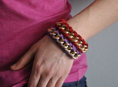 Purple Red by Tatin on Etsy