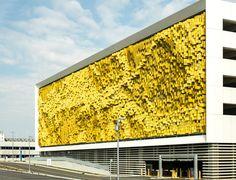 Eskenazi Hospital, Indianapolis, Urbana Studio #yellow #facade