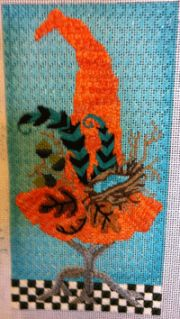 love the background stitch from Chandail Needlework Fabulous Upcoming Series