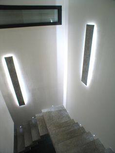 Résultat éclairage LED cage d'escalier