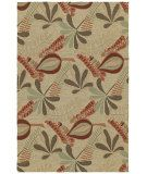 $530  sale      RugStudio presents Kaleen Home and Porch Tybee Linen 2005-42 Hand-Tufted, Good Quality Area Rug