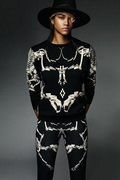 Street fashion [black] Marcelo Burlon County of Milan 2014 Fall/Winter Women's Lookbook | Hypebeast