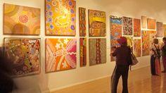 Desert Mob Exhibition, Art gallery, Alice Springs, Northern Territory, Australia