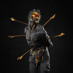 Xandt Sebastian II Sculpture for The Griswolds' album cover. 2016 Made by Hedi Xandt