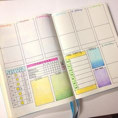 Ready for next week. Decided to keep the same weekly spread but I added some colour to it. I think I prefer it this way. Don't forget tomorrow I'll be announcing the winner of my giveaway. Good Luck to everyone that has entered #bulletjournaljunkies #bulletjournalcommunity #bulletjournal #weeklyspread #weeklylayout #planning #colour #mealplanning #weatherforecast