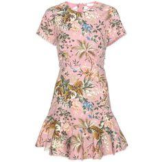 Zimmermann Tropicale Lattice Dress (388.645 CLP) via Polyvore featuring dresses