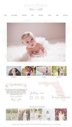 Wix Website design, website template, photography website ...