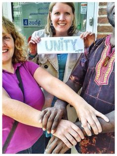 Ulla's one word for what IOGT means to her: UNITY
