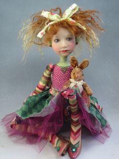 """""""Sadie's Bunny doll"""" by Dianne Adam"""