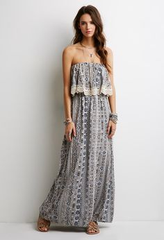 Layered Southwestern Print Dress | Forever 21