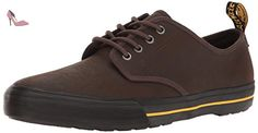 Dr.Martens Mens Pressler Brown Leather Shoes 45 EU - Chaussures dr martens (*Partner-Link)