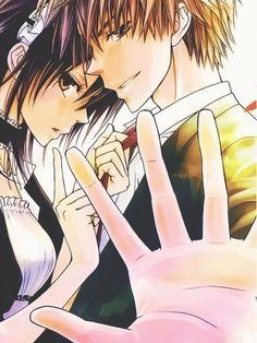 Top 10 Romance Anime || Usui and Misaki [Kaichou wa Maid Sama. Read: http://www.animedecoy.com/2016/02/top10romanceAnime.html ~