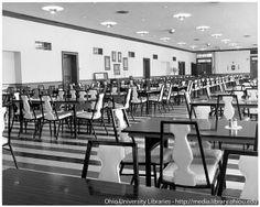 Ohio University Grosvenor, West Green dining hall, 1960s by Ohio University Libraries