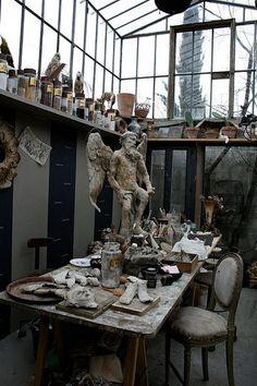 The ultimate studio, from buddha interiors tumblr