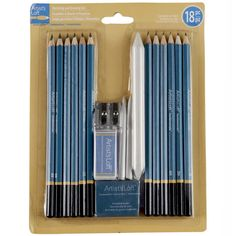 <div>Supply your passion to draw with the perfect set of tools. This classic set has all of your...
