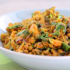 Vegetarian Slow Cooker Lentils