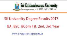 SK University Degree Result