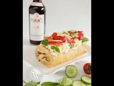 Pimm's Roulade