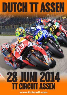 TT Circuit Assen - Dutch TT 28 Juni 2014
