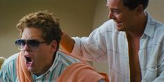 Jordan Belfort (Leonardo DiCaprio) & Donnie Azoff (Jonah Hill) the Steve Madden quaalude idea