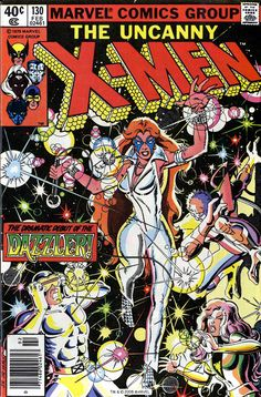 X-Men 130 for more X-Men, check out: adamantiumclaws.com #firstdazzler…