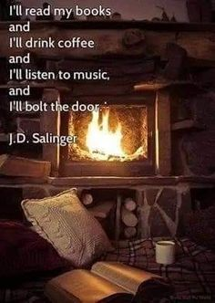 When it's cold outside, it's best to cosy up next to a warm fire in some comfy sleepwear.Desperate in owning a fireplace at home . Cabins In The Woods, Cabin Fever, Listening To Music, Warm And Cozy, Cozy Winter, Winter Coffee, Winter Cabin, Winter Fire, Autumn Cozy