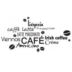 Sticker Tout café