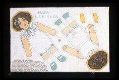 78.398: Baby Blue Eyes | doll | Cloth and Rag Dolls | Dolls | Online Collections | The Strong