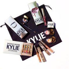 @kyliecosmetics: Prices:  Leo $30 Lord $19 Poppin $16 Creme shadow $20 Kyliner $38 Makeup bag $42 Mini Matte $36  Bundle $195