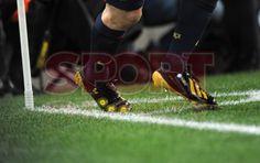 Leo Messi, FC Barcelona, 2 - Málaga, 2   Estreno de zapatos, Copa de Oro   [16.01.13]