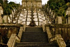 Bom Jesus, 4715 Braga - Braga, Portugal Only the a local would have known to take us to Bom Jesus. While staying with a host through Airbnb, two friends and I had the opportunity to spend the day with her and explore Braga. She told us, in her broken but sufficient English, of a church that was out of the city and very beautiful. I was not convinced until seeing the sparkle in her eye to suggest it was a spot not to be missed. After waiting 20 minutes for a bus to come that then took us up a…