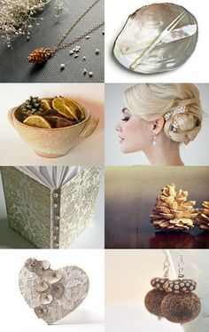Pinecones & Pearls