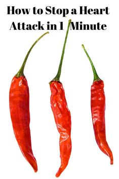 Cayenne pepper is a very healing plant and its benefits still remain unexplored. One of its benefits that was recently proven was that it can stop a heart attack in a minute. This is a spice you should make sure to always have in your cabinet. You never know when you might need it. #cayennepepper #heartattack