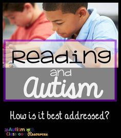 How Can We Best Teach Reading to Students with Autism? How Can We Best Teach Reading to Students with Autism?,Middle & High School Autism Classroom Resources How Can We Best Teach Reading to Students. Reading Strategies, Reading Skills, Teaching Reading, Reading Activities, Guided Reading, Reading Comprehension, Teaching Autistic Children, Teaching Kids, Autism Learning