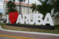 I Love Aruba! #aioutlet #aruba