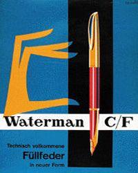 Waterman Pen Poster