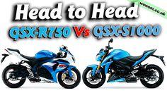 Head to Head: GSX-R750 Vs GSX-S1000