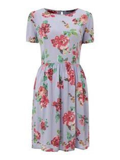 Therapy Forties floral dress Blue - House of Fraser
