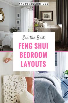 Best Feng Shui Bedroom Layouts / Tips for Good Bedroom Feng Shui