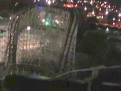 Texas Cyclone Rollercoaster  POV at Astroworld Last Public Ride Forever 10-30-05