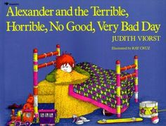 Alexander and the Terrible, Horrible, No Good Bad Day