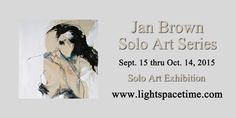 Jan brown - Solo Art Series - Event Postcard