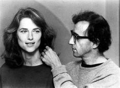 Woody Allen and Charlotte Rampling in Stardust Memories.