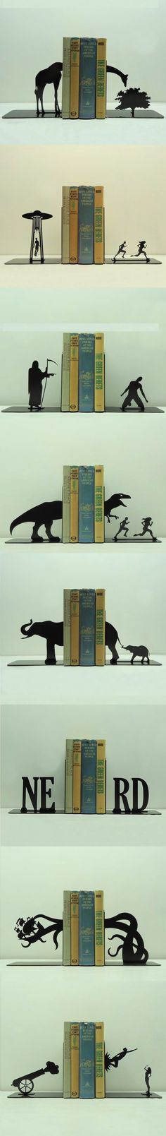 Knob Creek Metal Arts creates unique, whimsical and functional bookends that will fit with any lifestyle or hobby. We pride ourselves in our original designs and strive to keep creating original pieces for the world to enjoy. I Love Books, My Books, Somerset, Book Nooks, Book Nerd, T Rex, Book Lovers, Bookends, Cool Stuff