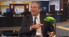 Jon Stewart blasts ex-AIG chief: 'Go f*ck yourself' for crying over $184 billion bailout