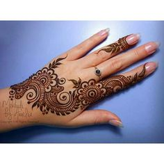 """To be happy – Henna Henna Hand Designs, Eid Mehndi Designs, Mehndi Designs Finger, Indian Henna Designs, Simple Arabic Mehndi Designs, Mehndi Designs For Girls, Mehndi Designs For Beginners, Modern Mehndi Designs, Mehndi Designs For Fingers"