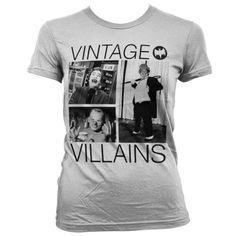 Batman Vintage Villains Koszulka Damska