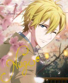 Nagi Rokuya at Anime Boys, Anime Boy Hair, Boys Colored Hair, Anime Dvd, Music Symbols, Anime Episodes, Anime Gifts, Summer Memories, Handsome Anime Guys