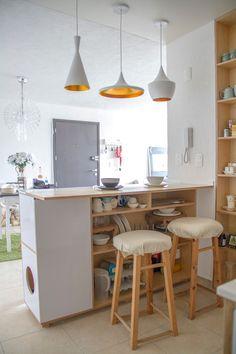 Apartment Storage, Kitchen Dinning Room, Sweet Home, Interior Deco, Kitchen Design, Apartment Design, Home Deco, Kitchen Photos, Home Decor